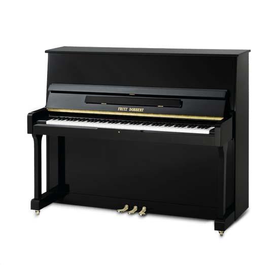 Piano Vertical Fritz Dobbert FD-126 AL