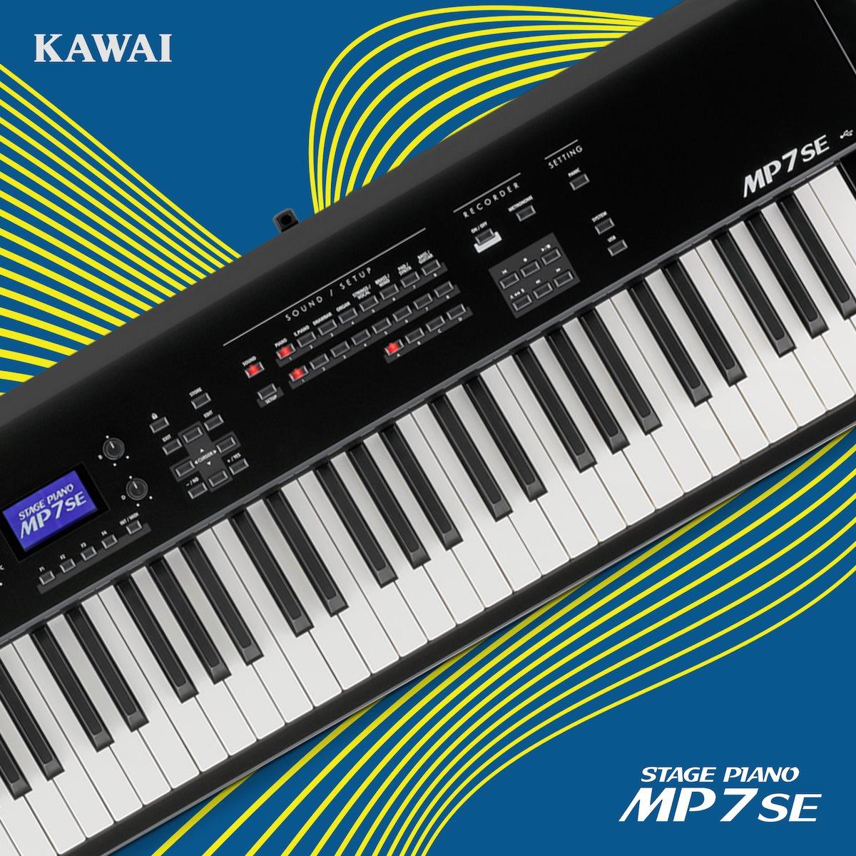Piano Digital Portátil Kawai MP7SE