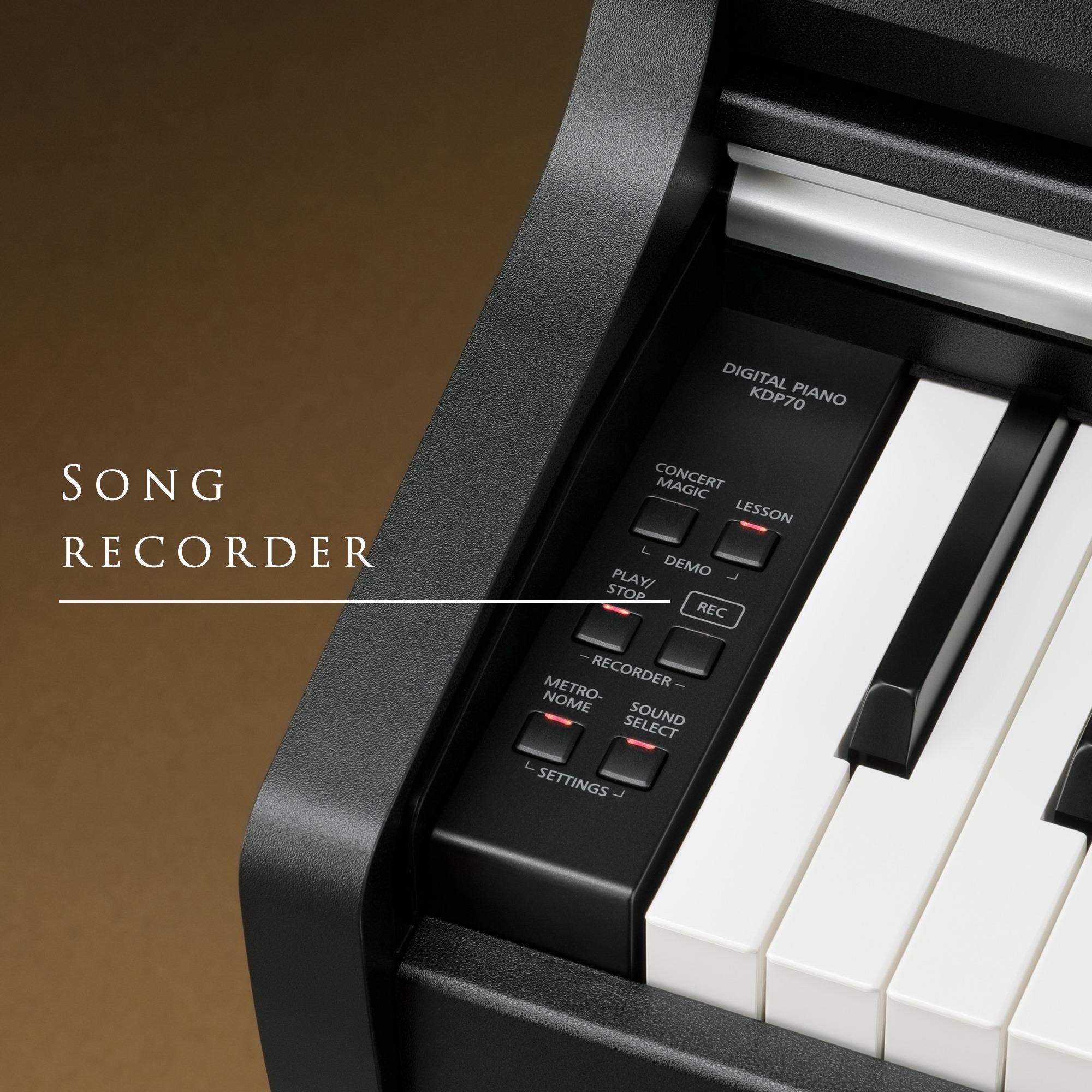 Piano Digital Kawai KDP-70 - Record