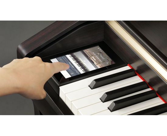 Mostrando a Tecla do Piano Digital Kawai CA98