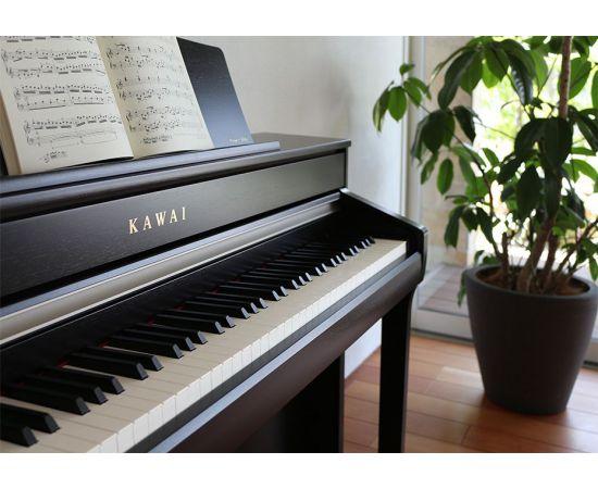 Detalhe do Piano Digital Kawai CA-98